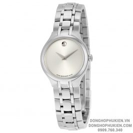 Đồng Hồ Movado Silver Dial Stainless Steel MV0606451