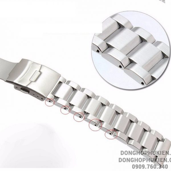 Dây đồng hồ Super Oyster Stainless Steel