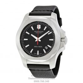 Victorinox Swiss Army I.N.O.X Black Dial Leather VICT241737.3