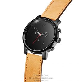 Chrono Black Tan Leather