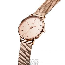 Boulevard Hermosa Rose Gold Steel