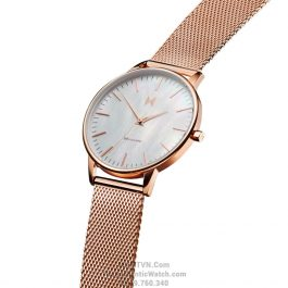 Boulevard Sunset Rose Gold Steel
