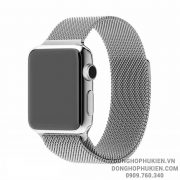 Dây Mesh Kim Loại Milanese Loop Cho Apple Watch
